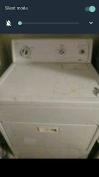 white front-load clothes washer Manteca, 95337