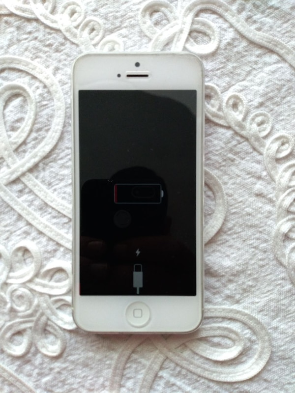 beyaz iPhone 5