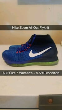 Nike Zoom all out size 7 women's  Chilliwack, V2R 3Y3