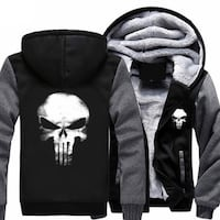 MARVEL COMICS: The Punisher Hoodie - NEW (Men's Size Small) Mississauga, L4Y 3T6