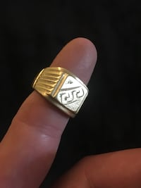 Men's Gold Ring  14.78g