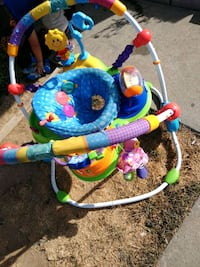 baby's blue and green jumperoo Gilroy, 95020