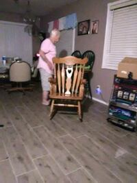 brown wooden rocking chair and brown wooden rocking chair San Tan Valley, 85143