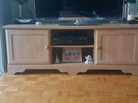 brown wooden TV stand Montreal, H1A