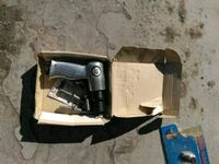 black and gray corded power tool 485 mi