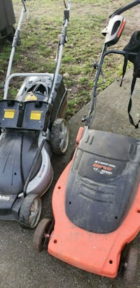 black and red Craftsman push mower Vancouver, V5X 1J5