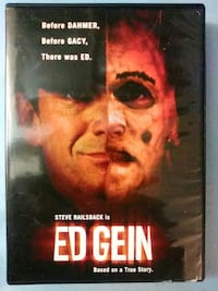 Ed Gein dvd Baltimore