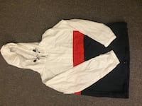 White and navy zip-up hoodie London, N6G 4C2