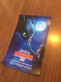 How to train your dragon poster. Corona, 92881