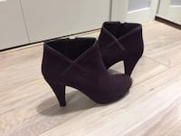 Suede Italy boots, size 7 Burnaby
