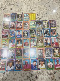 Old Topps All Star Rare Baseball Cards