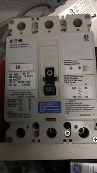 grey and white industrial circuit breaker ונקובר, V6G 1P4
