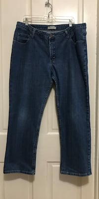 1-woman's DenimJeans- Brand name riders eased size 20 Pen Argyl, 18072