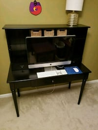 black and gray TV stand Gaithersburg, 20879