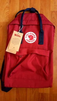 Dark Red Fjallraven Backpack (BRAND NEW)  Richmond