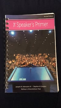 The Speaker's Primer , second edition Fairfax, 22031