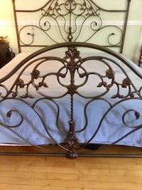 KING Brass Chandelier Bed, Comes with the King Mattress AND 2 Split King Box! By, Ethan Allen. Most Extraordinary Design And Comfort. FREE DELIVERY!
