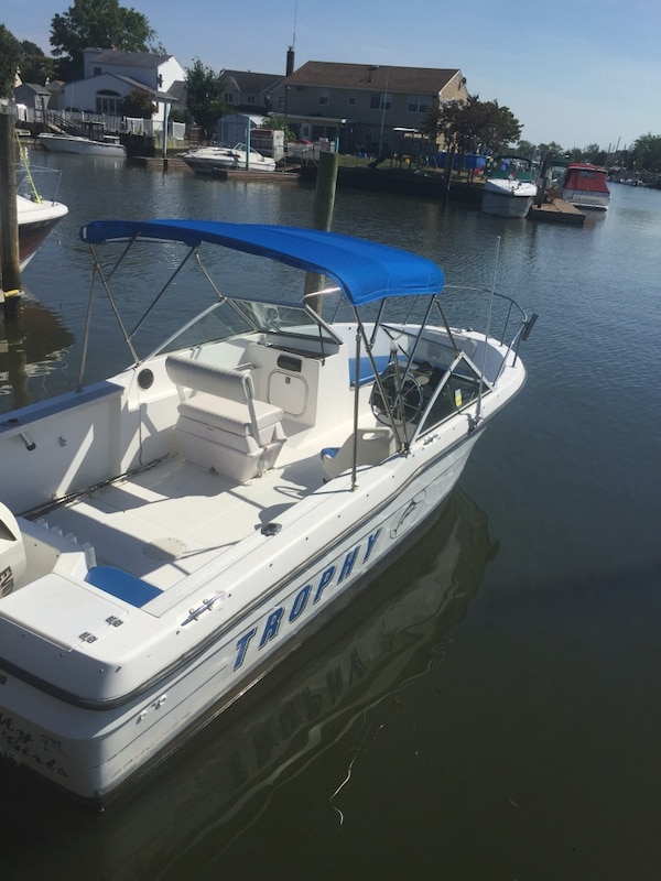 20' trophy bayliner fishing boat E Tec 115