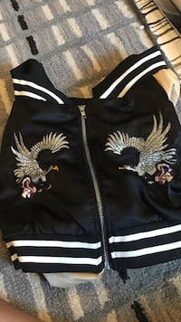 Fashion nova mini bomber jacket. Never worn! Carlsbad, 92009