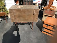 Vintage English military trunk shipped from England to America on canard cruise line West Islip, 11795