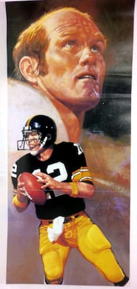 Terry Bradshaw Pittsburgh Steelers poster Winchester, 22601
