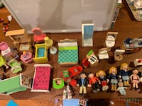 Dollhouse furniture and figures lot Gaithersburg, 20878