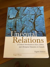 Unequal Relations by Augie Fleras book