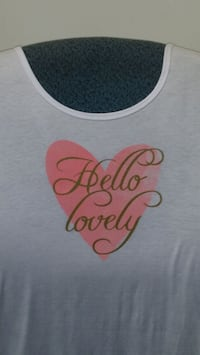 NEW Hello Lovely short sleeve tshirt
