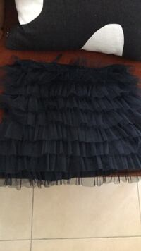 Small black tutu skirt with zipper and stretch ballet style Las Vegas, 89158