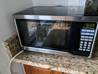 Hamilton Beach 0.7 cu ft 700W Microwave, Stainless Washington, 20008