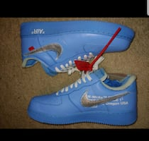 Mens Air Force 1 Off White MCA
