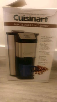 Brand new Cuisinart coffee maker (grind and brew) Calgary, T2X 0C2