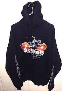 Sturgis Motorcycle Rally Hooded Sweatshirt 2007 By Noble London