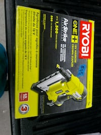Ryobi 18-volt one plus Crown stapler Louisville, 40291