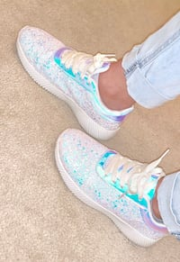 Super Cute Sparkly girl's sneakers