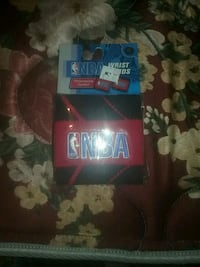NBA wrist bands red and black  Vienna, 26105