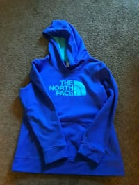 blue north face pullover hoodie Flint, 48504