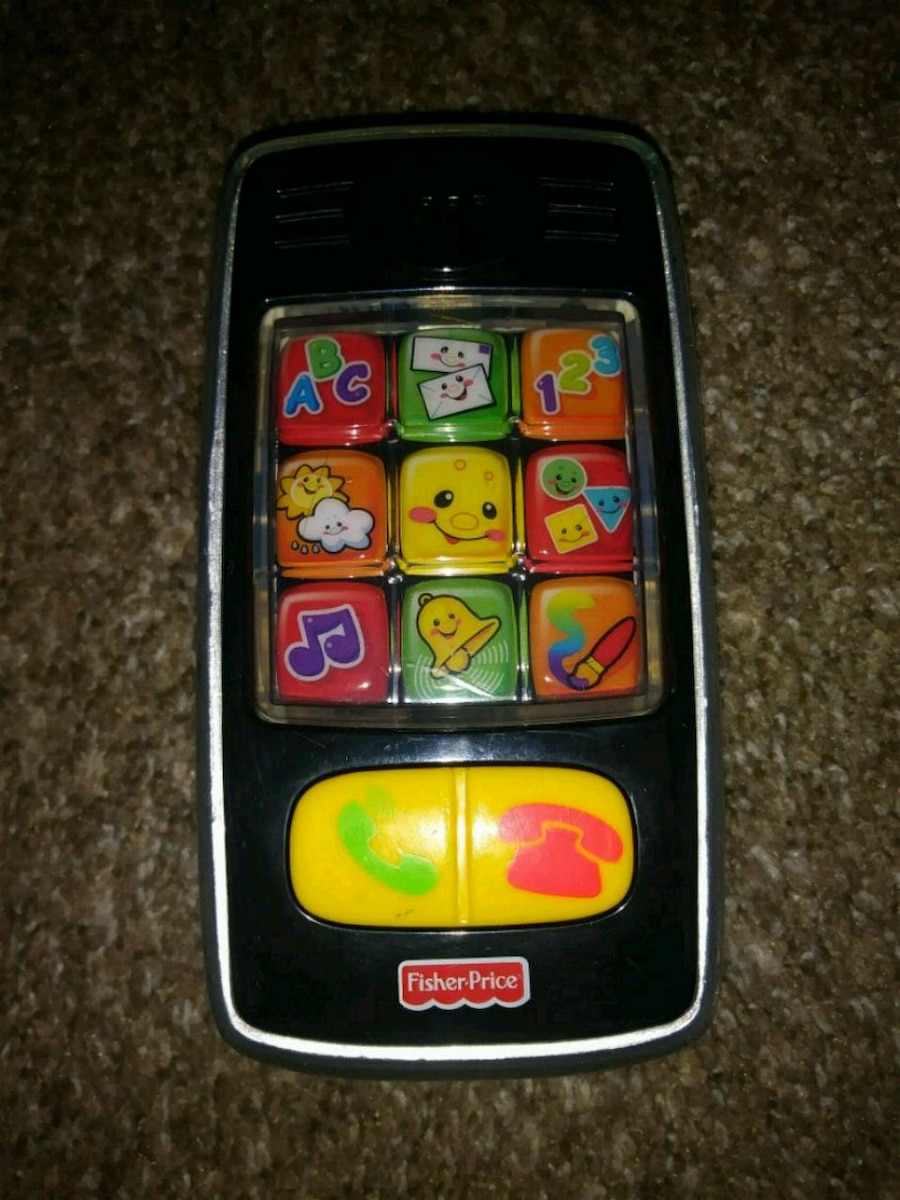 Photo Fisher Price Laugh & Learn Smilin' Smart Cell Phone