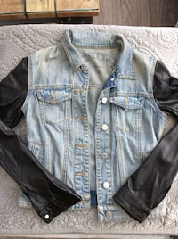 Aritzia talula jean and leather jacket  Kelowna, V1Y 0E6
