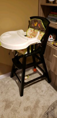 Baby or Toddler High Chair w/ woodland creatures