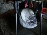 Graco baby swing(Girl)