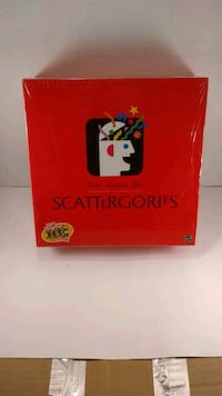 Scattergories 1999 Unopened Manassas, 20111