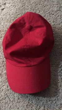 Red and black fitted cap Fairfax, 22031