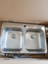 Blanco Stainless Steel Drop In Sink with faucet!  Mississauga, L5M 0B7