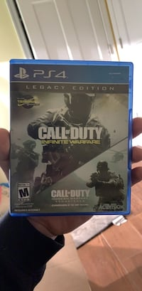 Call of duty: Infinite Warfare/modern warfare remastered (PS4) Washington, 20016