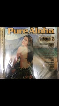 New PURE ALOHA volume 2 Hawaiian Hits music CD still newly sealed  Located off lake mead and jones area $2.00 Las Vegas, 89108