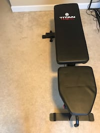 Titan adjustable workout bench