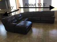Leather Sectional Las Vegas, 89130