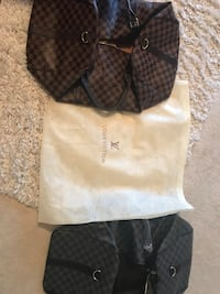 Pair of LV duffle bags  42 mi