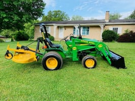Ready To Work Comes With A Bucket2005 John Deere 650